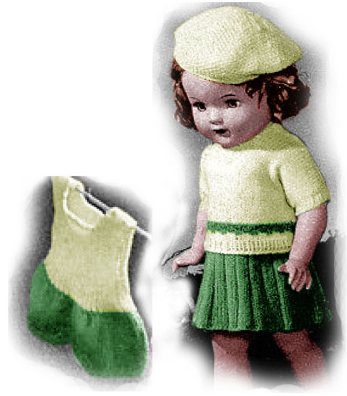 Free Knitting Patterns For American Girl Dolls