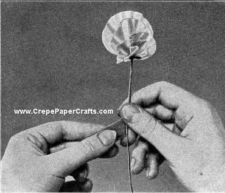 Sweet Pea Paper Flower - Figure 5