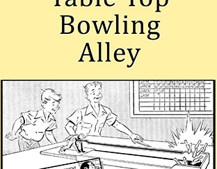 Table Top Bowling Alley Plans http://vintageinfo.net/downloads/table-top-bowling-alley-plans