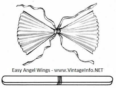 Easy Angel Wings to Make http://vintageinfo.net/easy-angel-wings-to-make