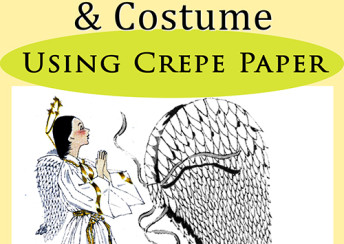 Feather-Like Angel Wings http://vintageinfo.net/downloads/angel-wings-costume-of-crepe-paper/