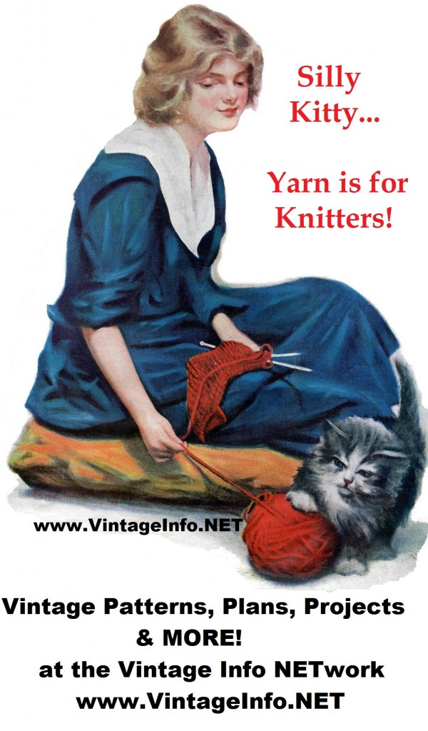 Vintage Knitting Books | knitting for sale