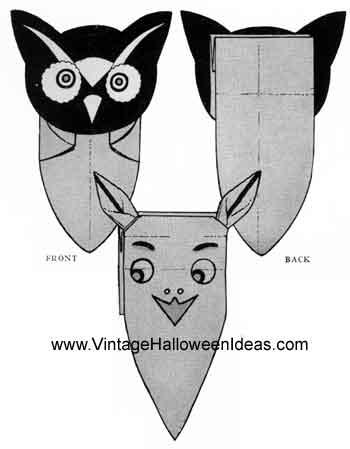 Paperbag Halloween Masks