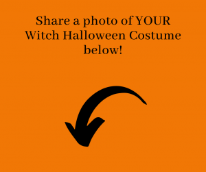 Share your witch halloween costume below!