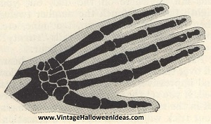 Skeleton Hand Invitation to Make